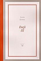 Eseji III by Igor Zabel
