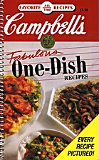 Campbell's Fabulous One-Dish Recipes