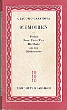 Memoiren 1 : Bettina, Rom, Paris, Wien, Die…