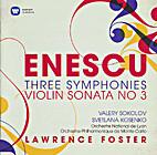 Symphonies Nos. 1 - 3 / Violin Sonata No. 3…