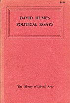 David Hume's Political Essays by David Hume