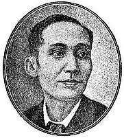 """Author photo. from the book """"Mga Dakilang Pilipino"""" by Jose N. Sevilla, 1922"""