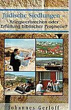 Jüdische Siedlungen: Kriegsverbrechen…