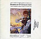 Diarmuid O Ceallachain Paintings 1937-1990…