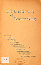 The lighter side of peacemaking being…