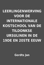 LEERLINGENWERVING VOOR DE INTERNATIONALE…