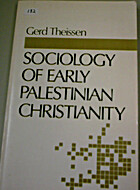 Sociology of Early Palestinian Christianity…
