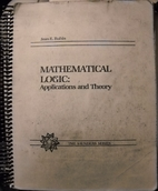 Mathematical Logic Applications and Theory…