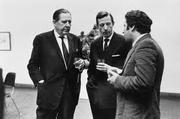Author photo. Hans Werner Grohn (center)