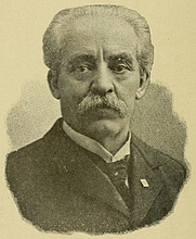 Author photo. Image from <b><i>Our Bible: who wrote it? When-where-how? Is it infallible?</i></b> (1900) by Moses Hull