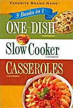 One-Dish, Slow Cooker, Casseroles Cookbooks