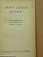 Arany László munkái by Arany László
