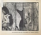 An Exhibition of Etchings by Edgar Degas by…
