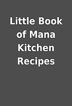 Little Book of Mana Kitchen Recipes