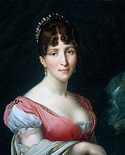 Author photo. Wikipedia, Hortense de Beauharnais by Anne Louis Girodet-Trioson (1767–1824)