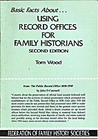 Using record offices for family historians…