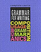 Grammar for writing by Martin Lee