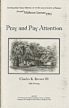 Pray and pay attention : or how to enjoy…
