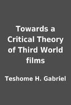 Towards a Critical Theory of Third World…