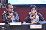 Author photo. Jason Kirby &amp; Wendy Hsu on the &quot;Identity Projects&quot; panel, 2010 Pop Conference, EMPSFM, Seattle, Washington. By Joe Mabel, CC BY-SA 3.0, <a href=&quot;https://commons.wikimedia.org/w/index.php?curid=10111164&quot; rel=&quot;nofollow&quot; target=&quot;_top&quot;></a><a href=&quot;https://commons.wikimedia.org/w/index.php?curid=10111164&quot; rel=&quot;nofollow&quot; target=&quot;_top&quot;>https://commons.wikimedia.org/w/index.php?curid=10111164</a>