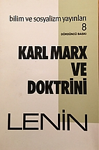Karl Marx ve Doktrini by V. I. Lenin