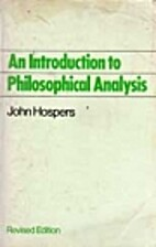 An Introduction to Philosophical Analysis.…