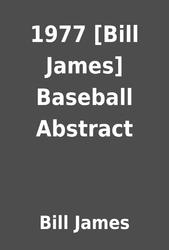bill james baseball