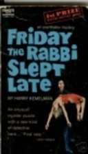 Friday the Rabbi Slept Late by Harry…