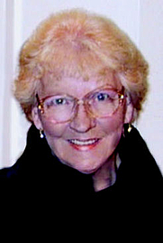 Author photo. Betty Dravis from cover of novel 1106 Grand Boulevard