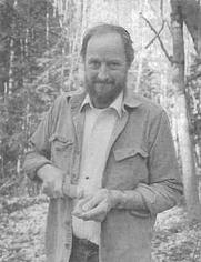 Author photo. Robson Bonnichsen [source: Mammoth Trumpet, Vol. 20, no. 2, 1995]