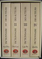 Dictionnaire des auteurs de tous les temps…