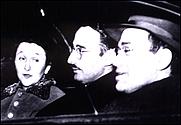 Author photo. Morton Sobell (right) with Julius and Ethel Rosenberg (newyork.fbi.gov)
