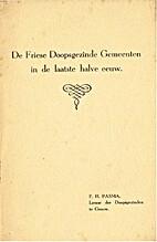 De Friese doopsgezinde gemeenten in de…