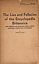 The lies and fallacies of the Encyclopedia…