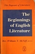 The Beginnings of English Literature by…