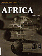 Africa 2004 (World Today Series Africa) by…