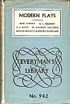 Modern plays by Arnold Bennett