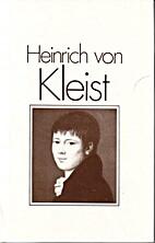Heinrich von Kleist by Peter Goldammer