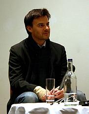 Author photo. Credit: Alexander Smotrov, Oct. 21, 2005, London Film Festival