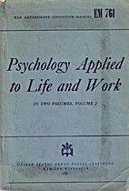 EM 761 Psychology Applied to Life and Work…