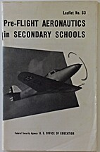 Pre-flight aeronautics in secondary schools…