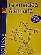 Gramatica Alemana (Lengua Alemana)