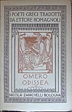 Omero Odissea, volvme secondo by Homer