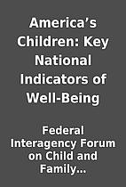 America's Children: Key National…