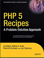 PHP 5 Recipes: A Problem-Solution Approach…