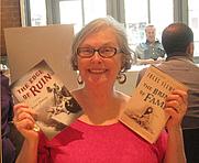 Author photo. Kate Gallison, a.k.a. Irene Fleming. Photo courtesy of Princeton Public Library.
