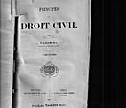 Principes de droit civil. Tome dixiéme by…