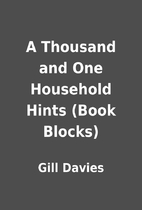 A Thousand and One Household Hints (Book…