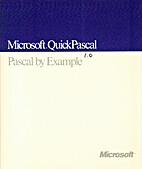 Microsoft QuickPascal 1.0 - Pascal by…