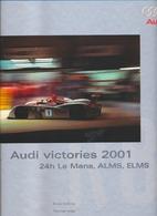 Audi Victories 2001: 24h Le Mans, Alms, Elms…